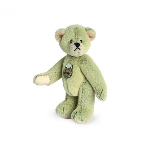 Teddy Hermann 154129 Teddybär salbei Miniatur 6 cm
