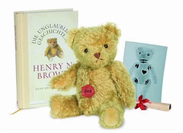 Teddy Hermann 155133 Henry N. Brown mit Buch