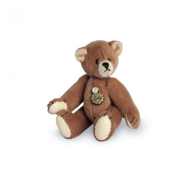 Teddy Hermann 154174 Teddybär braun Miniatur 6 cm