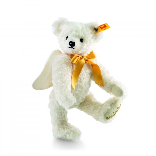 Steiff 001741 Schutzengel Teddybär 27 cm mit gelber Schleife