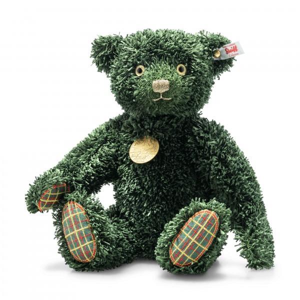 Steiff 006036 Green Christmas Teddybär 34 cm