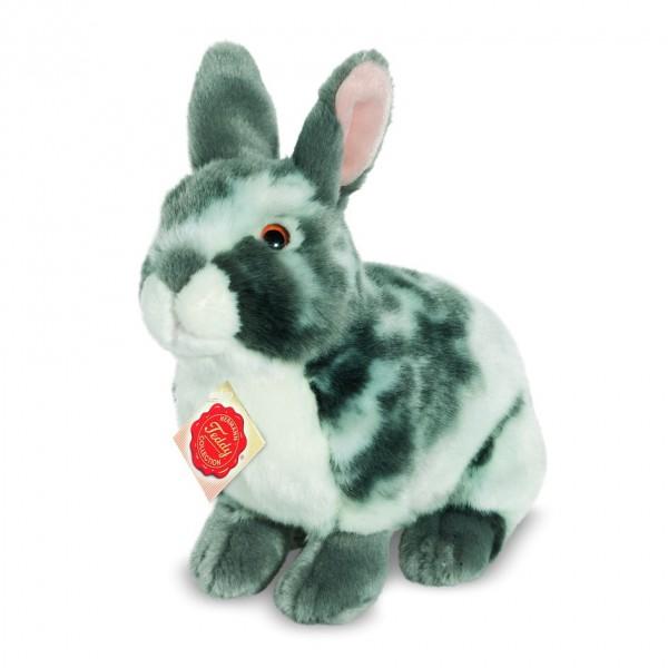 Teddy Hermann 937623 Hase grau Wirkplüsch 22 cm