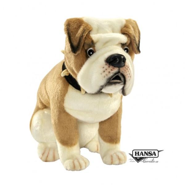 Hansa 6421 Englische Bulldogge sitzend 32 cm