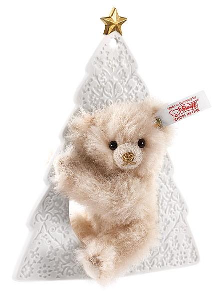 Steiff 677281 Lladró Teddybär Ornament Alpaca 15 cm