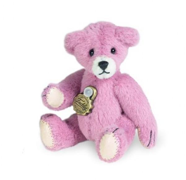 Teddy Hermann 153382 Teddy rosé Miniatur 5 cm
