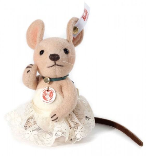 Steiff Brie Squeeker Mouse 9 cm