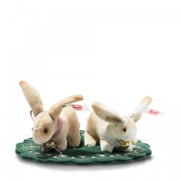 Steiff 006128 Hasen Set zweiteilig
