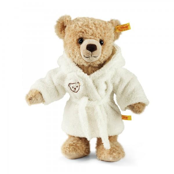 Steiff 122767 Teddybär Kim 28 cm beige mit Bademantel