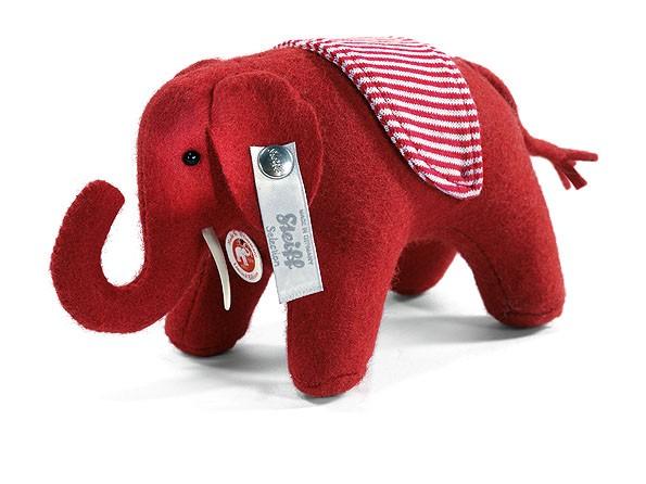 Steiff 035814 Filzelefant rot 14 cm Elefant Elefäntle limitiert