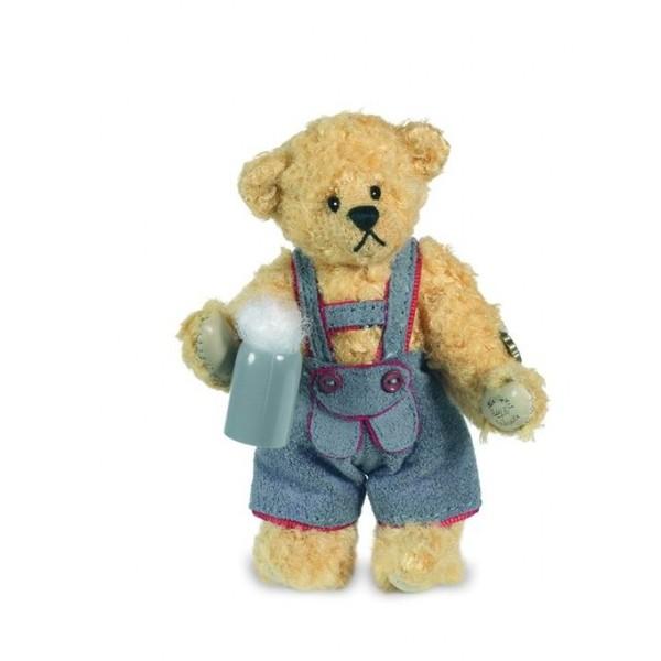 Teddy Hermann 153627 Teddybär Miniatur Andi 9 cm Mohair
