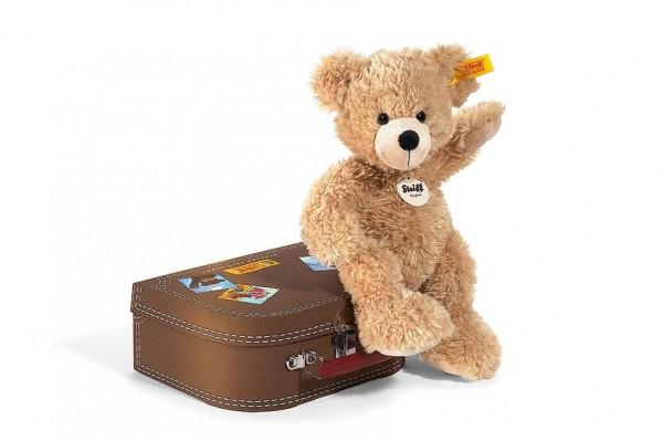 Steiff 111471 Fynn Teddybär 28 cm im Koffer
