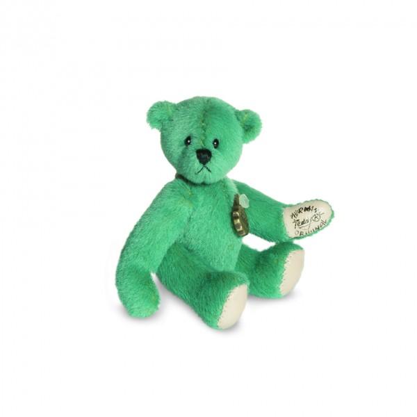 Teddy Hermann 157557 Teddy türkis Miniatur 6 cm