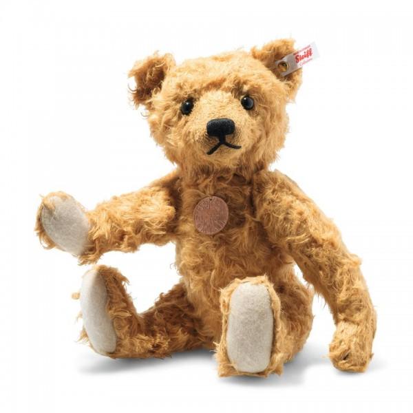 Steiff 006104 Teddybär Linus 35 cm rotbraun
