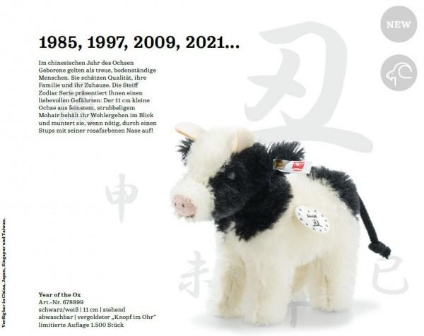 Steiff 678899 Year of the Ox 11 cm
