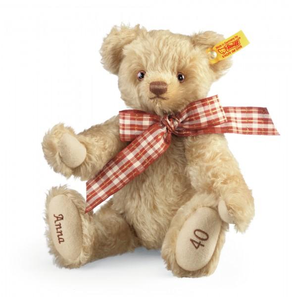 Steiff 001772 Celebration Teddybär 27 cm individuell bestickbar