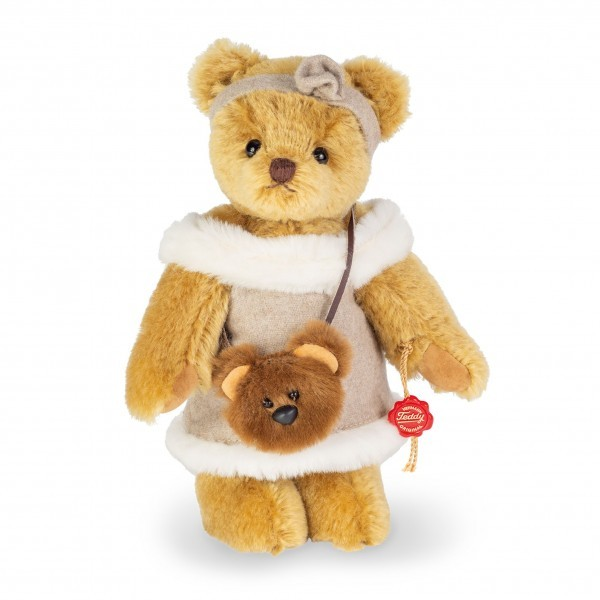 Teddy Hermann 117124 Teddybär Carla 22 cm