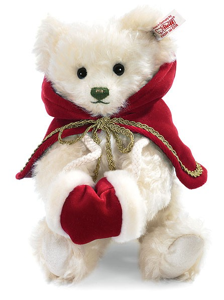 Steiff 035968 Weihnachtsteddybär 27 cm Teddybär Weihnachten