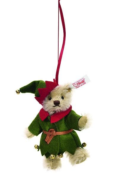 Steiff 036729 Teddybär Elf Ornament 10 cm Mohair