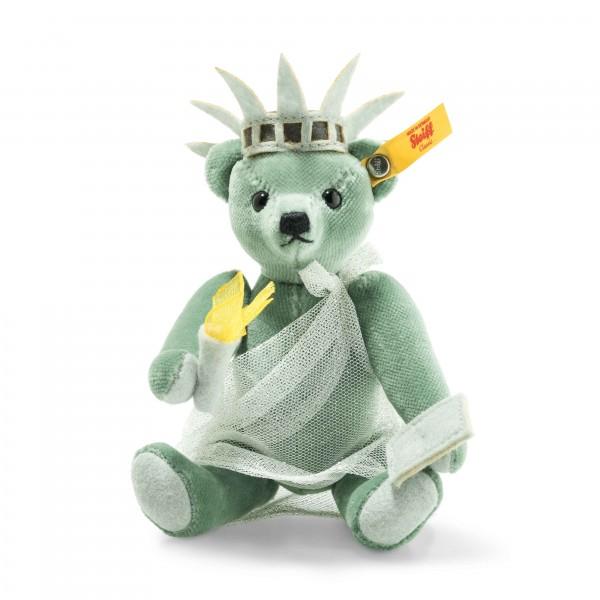 Steiff 026874 Great Escapes New York Teddybär 15 cm in Geschenkbox