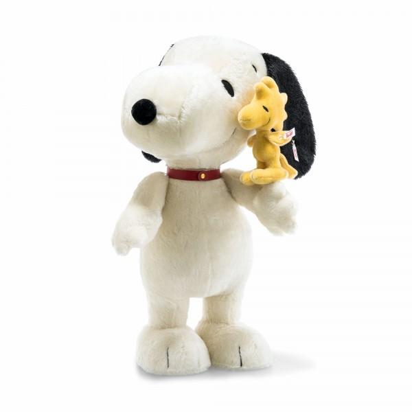 Steiff 658211 Snoopy 60 cm mit Woodstock 19 cm
