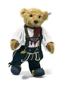 Steiff 038037 Teddybär Großvater Mohair 36 cm