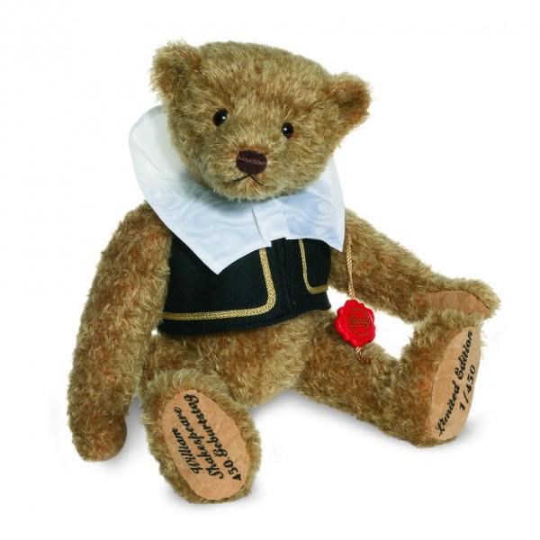 Teddy Hermann 155126 Teddybär William Shakespeare Mohair 30 cm