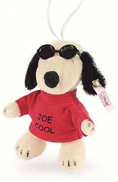 Steiff 682377 Snoopy Joe Cool Ornament Mohair 12 cm