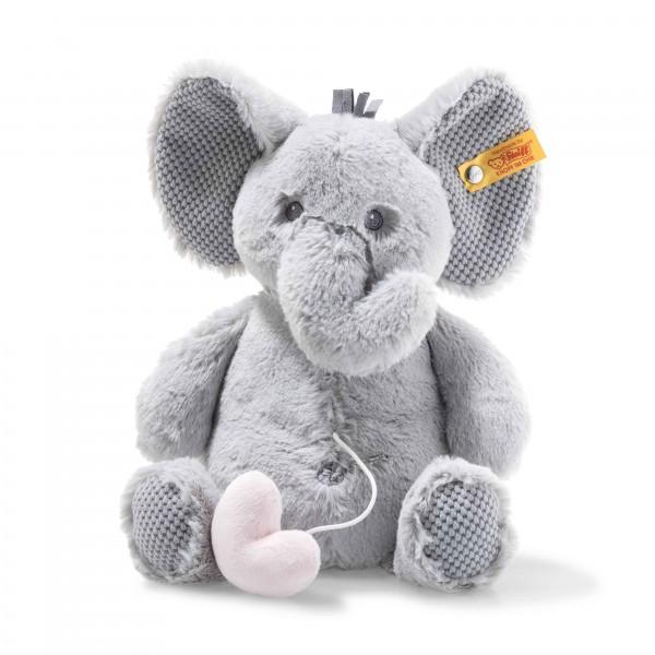 Steiff 241765 Soft Cuddly Friends Ellie Elefant Spieluhr 26 cm