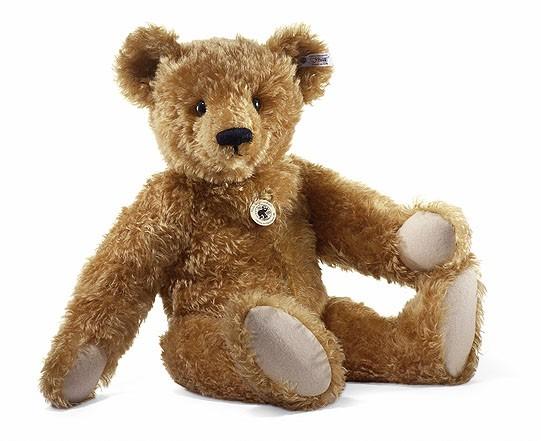 Steiff 408014 Teddybär 1908 mit Wärmflasche 58 cm