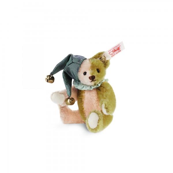 Steiff 034510 Harlekin Teddybär Miniatur Mohair 10 cm