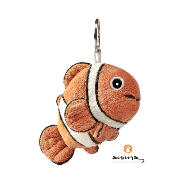 anima 21203 Clownfisch Schlüsselanhänger 10 cm