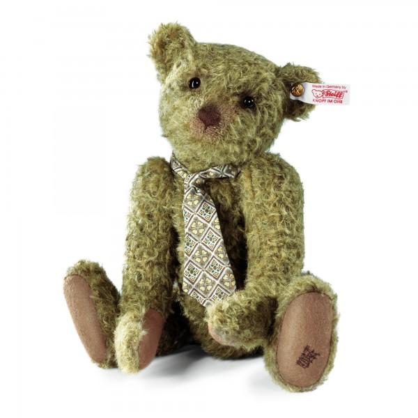 Steiff 034367 Tramp Teddybär Mohair antikolivgrün 32 cm