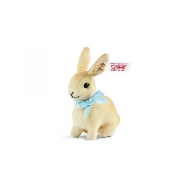 Steiff 034329 Kaninchen aus feinstem Trevirasamt 7 cm