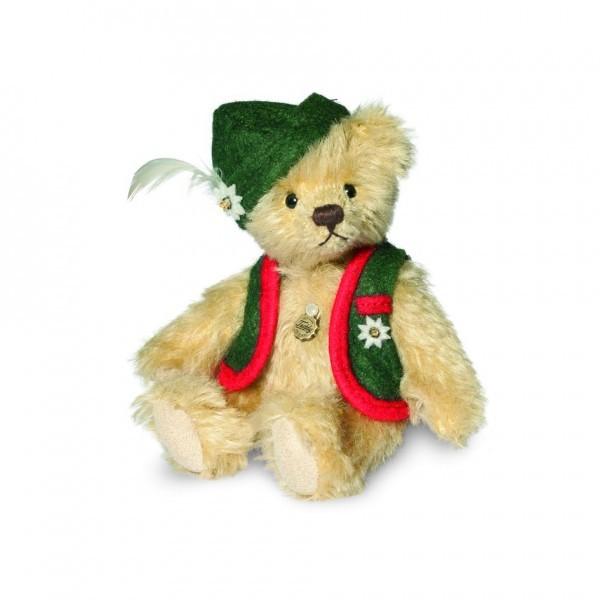 Teddy Hermann 162940 Teddybär Alberth Miniatur 12 cm