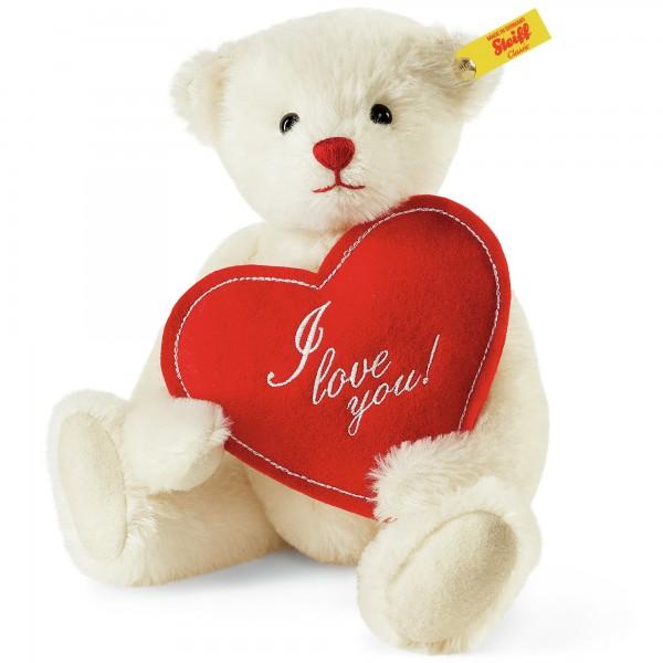 Steiff 000164 Fabian, der Liebesbotschafter Teddybär Mohair 27 cm
