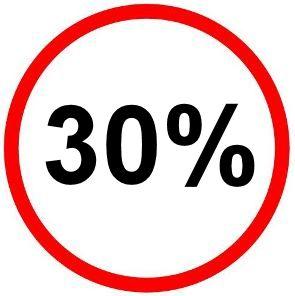 30% Aktion