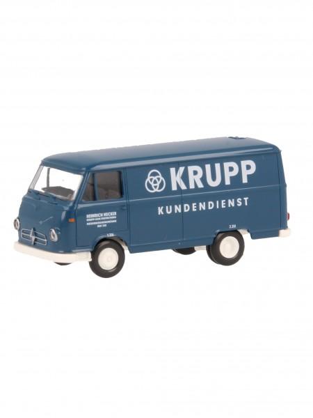 Wiking Borgward B611 Kastenwagen Krupp Kundendienst