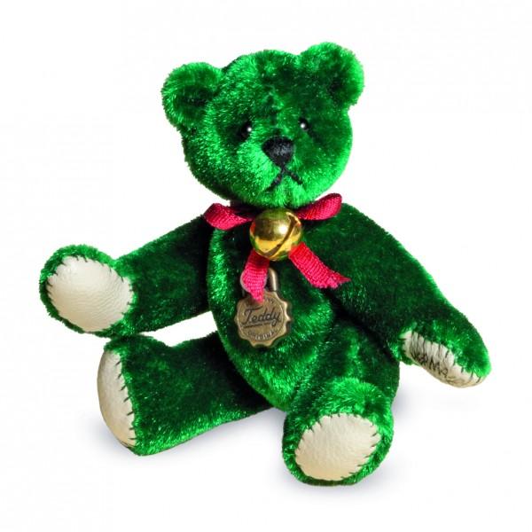 Teddy Hermann 154419 Teddybär Miniatur Tannengrün 6 cm