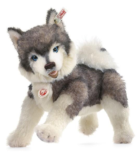 Steiff 036866 Hund Bobby Husky Masterpiece 32 cm
