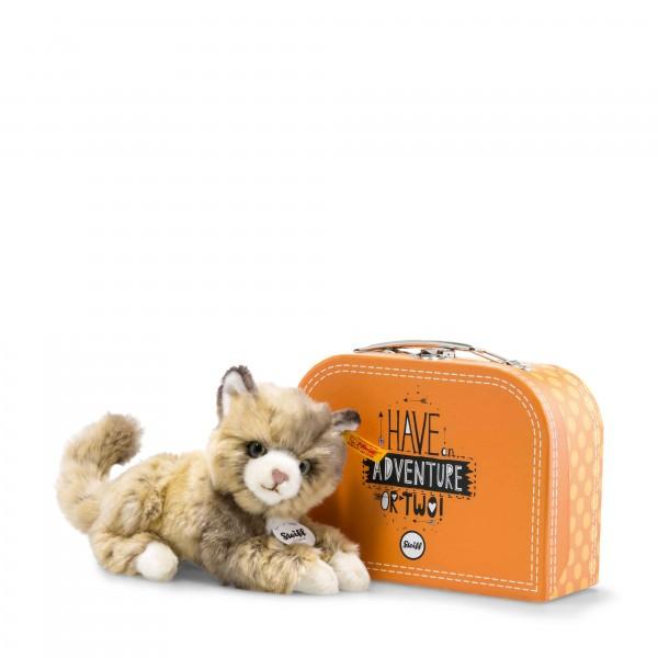 Steiff 099472 Lucy Katze 18 cm im Koffer
