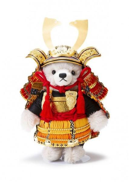 Steiff 000287-4 Teddybär Samurai (Nakagourai Gold) 24 cm