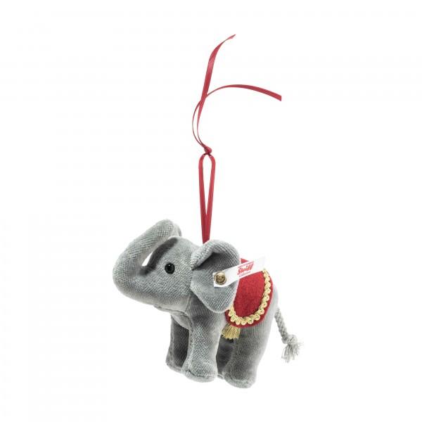 Steiff 006050 Weihnachtselefant Ornament 10 cm