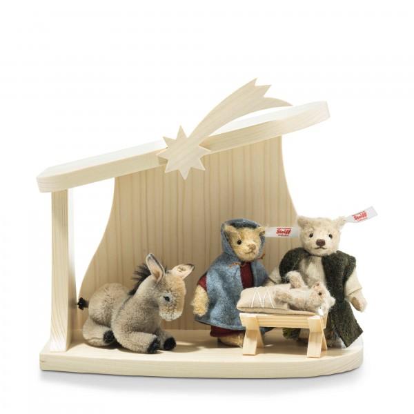 Steiff 006937 Weihnachtskrippe Set