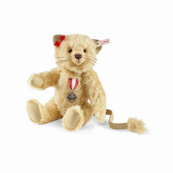 Steiff 682674 Cowardly Lion Teddy Bear Mohair 28 cm