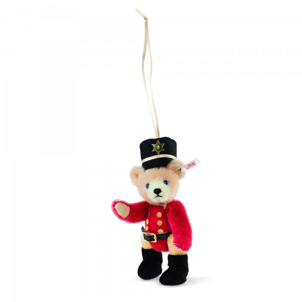 Steiff 034244 Teddybär Nussknacker Ornament 14 cm