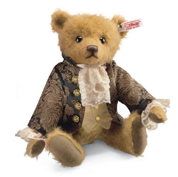 Steiff 034787 Sir Edward Teddybär Mohair 28 cm