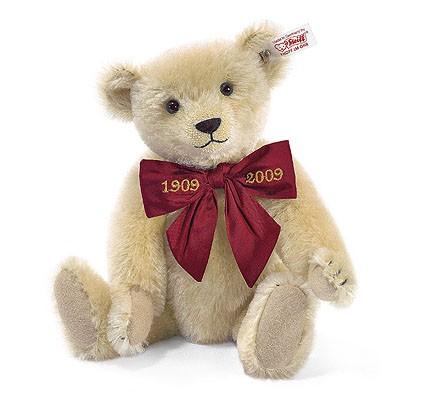 Steiff 038471 Teddybär Margarete Mohair Blond 28 cm