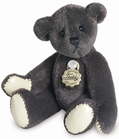 Teddy Hermann 153917 Teddy Mokka Miniatur 5,5 cm
