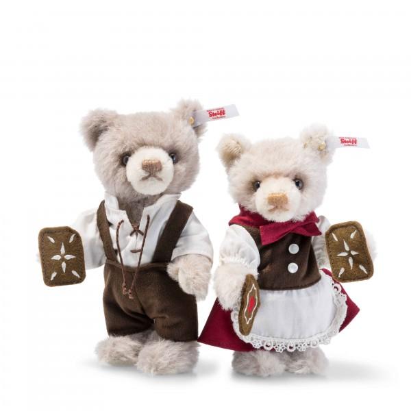 Steiff 006647 Märchenwelt Teddybären Hänsel und Gretel 15 cm