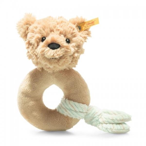 Steiff 242298 Teddybär Jimmy Greifling 14 cm beige